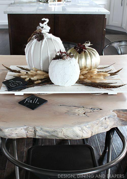 Fall neutral centerpiece