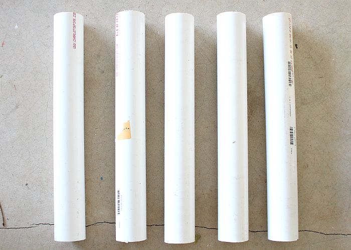 PVC Pipes for ground