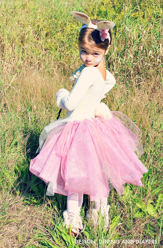 DIY Girlie Bunny Costume