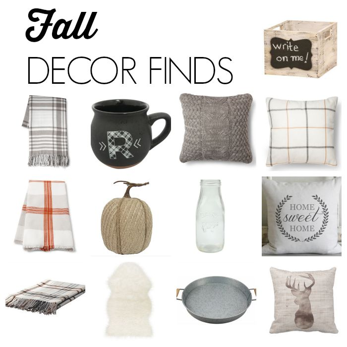 Fall Decor Finds