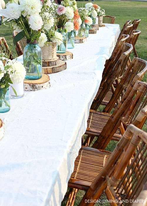 Outdoor Entertaining Decor
