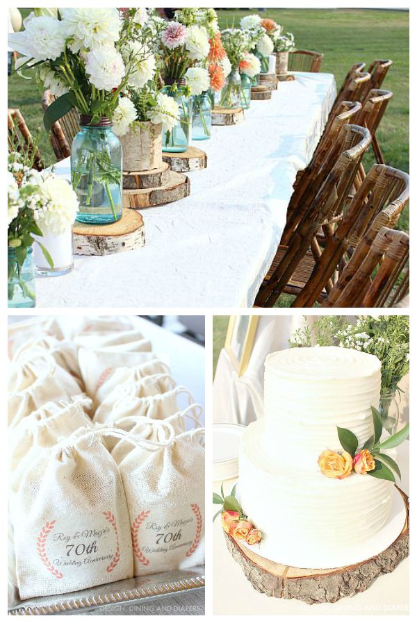 Simple Rustic Outdoor Party