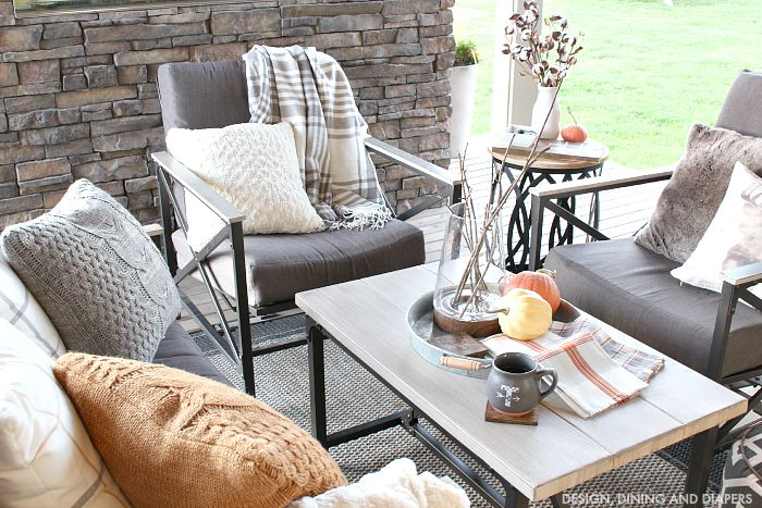 Soft Rustic Outdoor Space