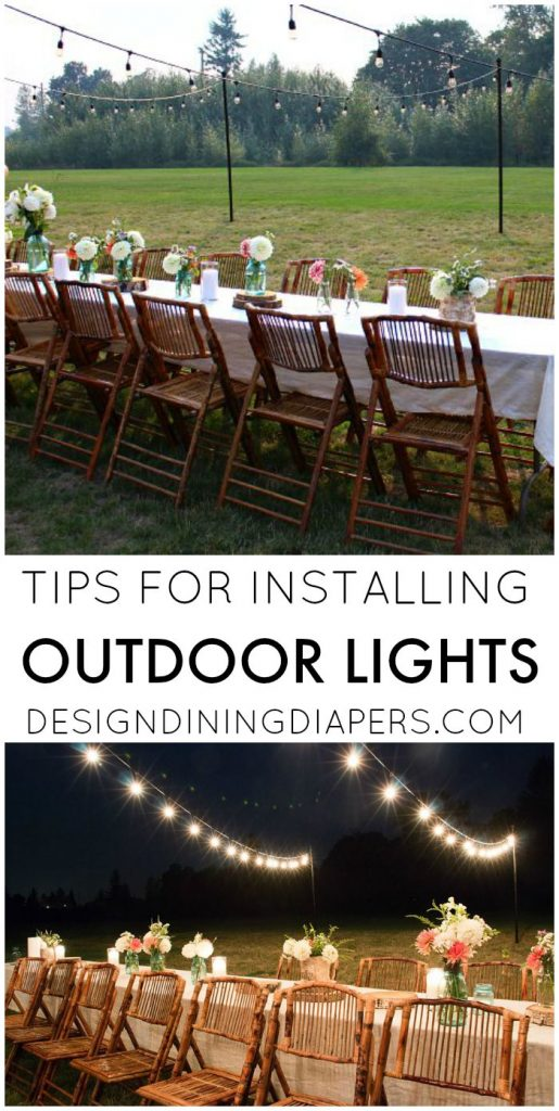 Tips for Installing Backyard Outdoor Lights
