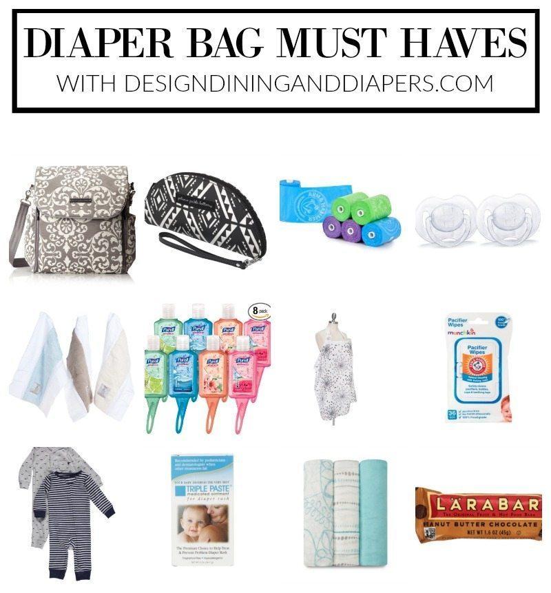 Diaper Bag Must Haves