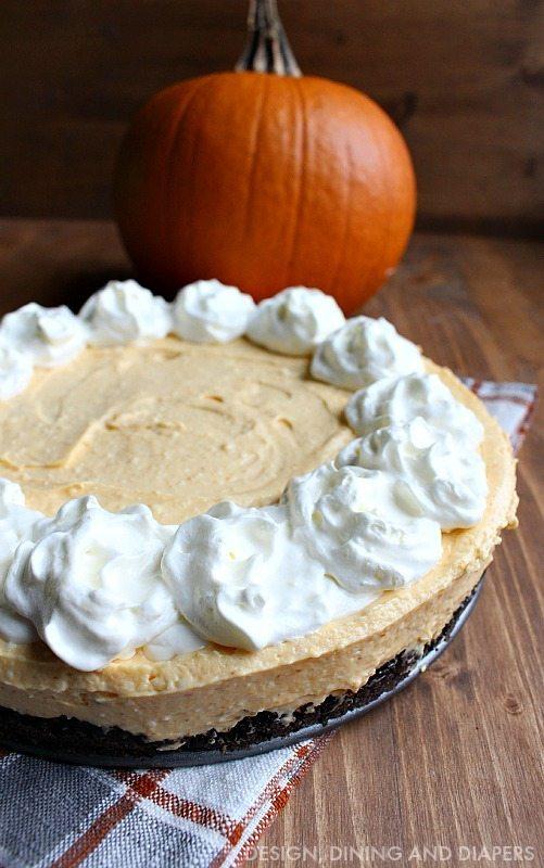 Easy Pumpkin Cream Cheese Tart