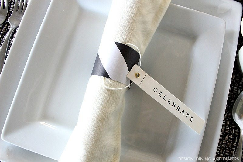 Easy and inexpensive napkin holders