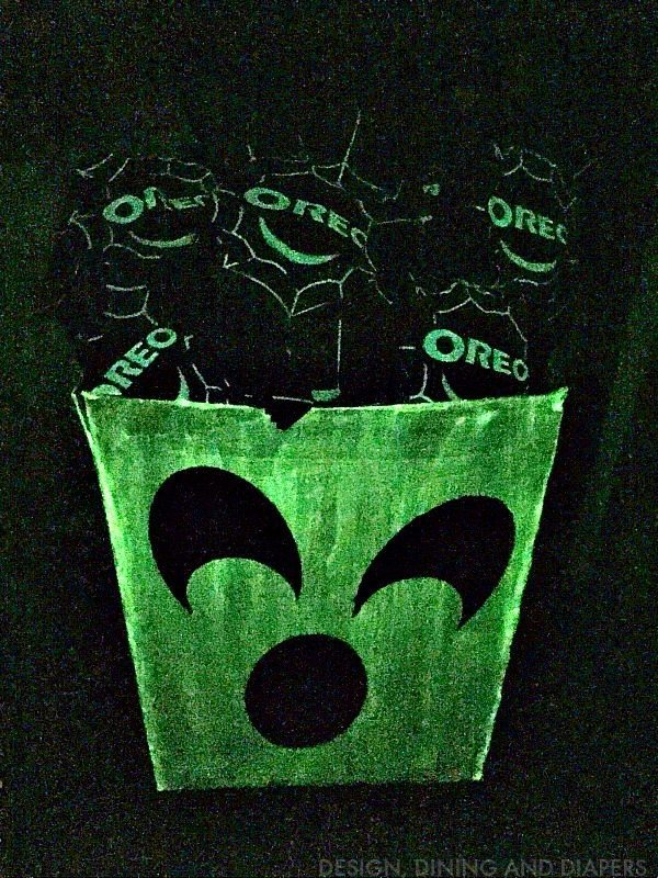Glow in the dark Halloween Treat Box