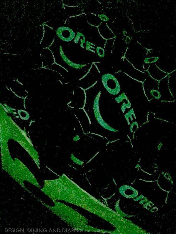Glow-in-the-dark OREO packs