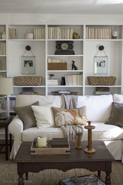 Living-Room-Bookshelves-Rustic-and-Woven
