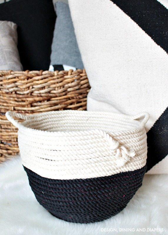 DIY Rope Basket - Make it your own!