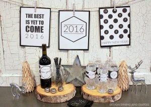 Free 2016 New Year's Bottle Wraps