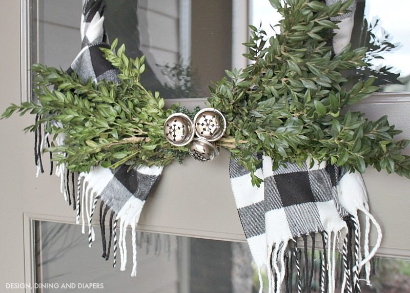 Buffalo Check Wreath Taryn Whiteaker