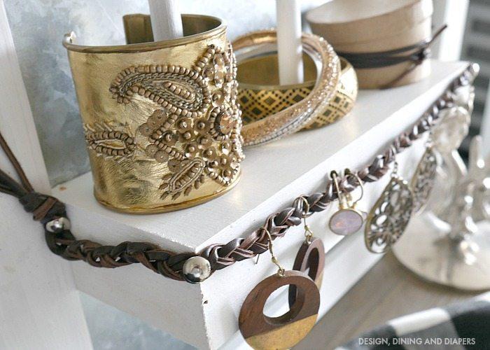 DIY Jewelry Organizer Taryn Whiteaker