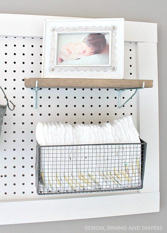 Diaper Organization Station
