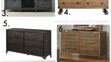 Finding The Perfect Industrial Dresser