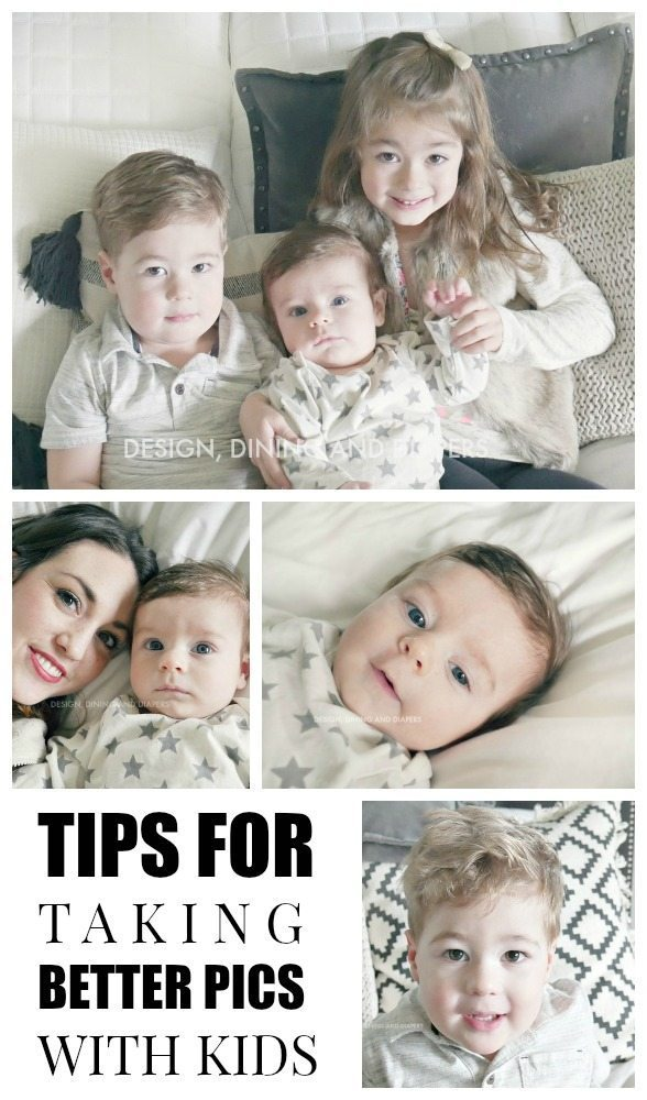 Tips For taking better pics with kids