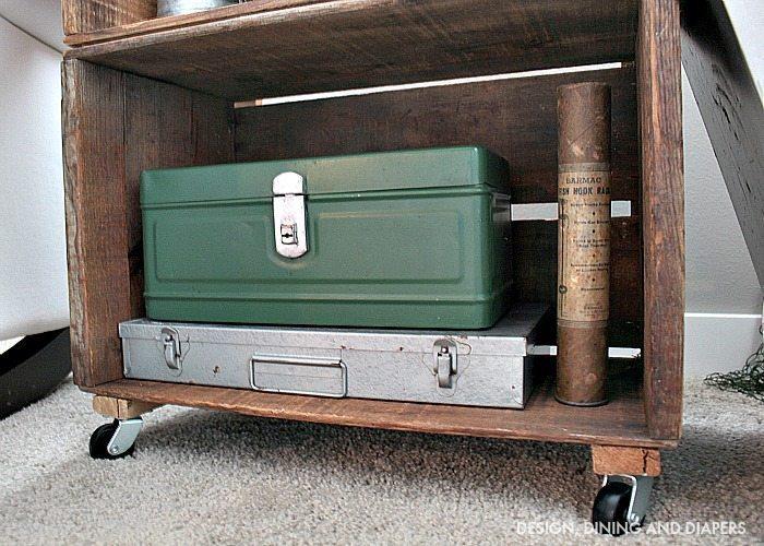 Vintage tackle box