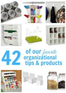 42 of the Best Organization Products + Giveaway
