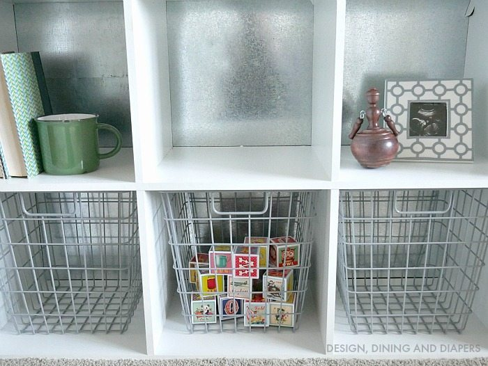 DIY Cube Storage Hack With Metal
