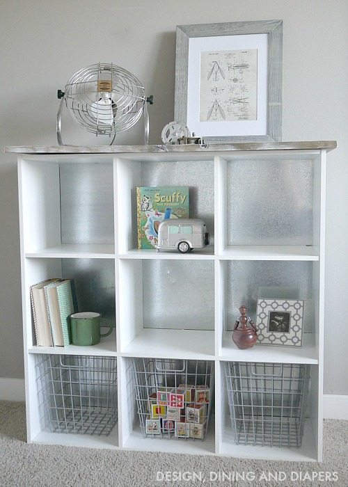 DIY Cube Storage Hack