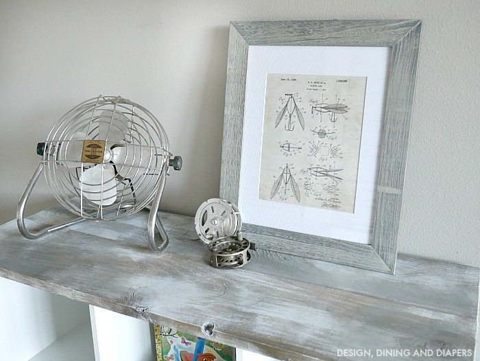 Faux Weathered Wood Look