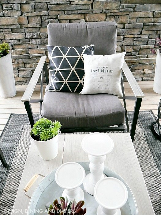 Industrial Farmhouse Style Outdoor Space