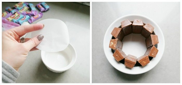 Kit Kat Basket Tutorial 1