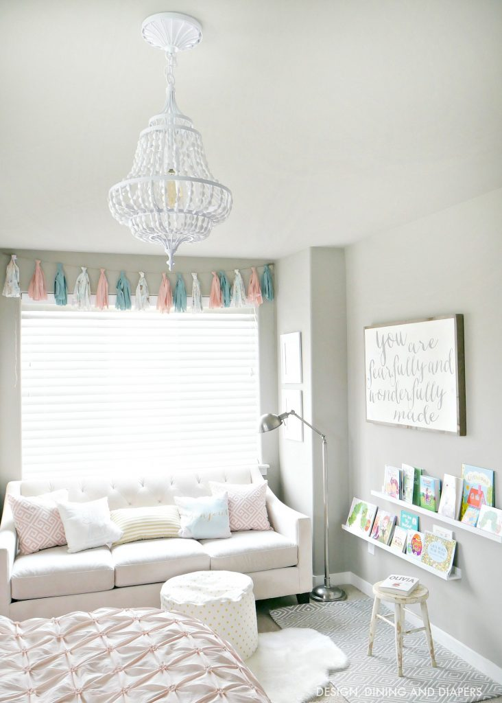 Girl Room Sneak Peek: New Lighting - Taryn Whiteaker