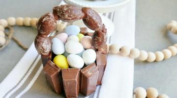 Mini Kit Kat Easter Baskets