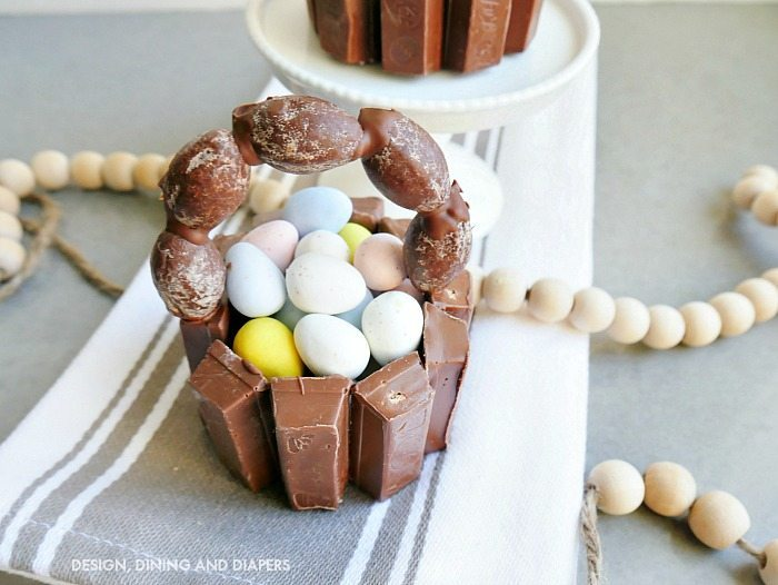 Mini Kit Kat Easter Baskets