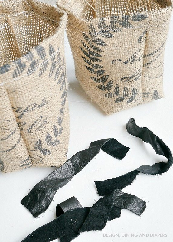 DIY Grain Sack Gift Bags - Perfect for Mother's Day