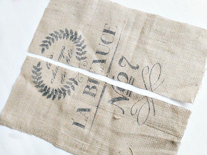 DIY Grain Sack Gift Bags - So Easy!