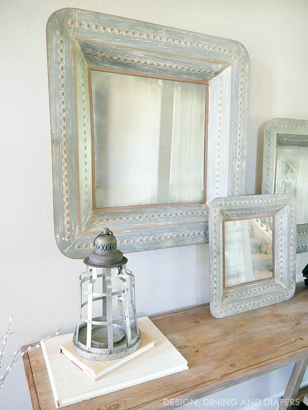 Large Mirrors in Entry Way