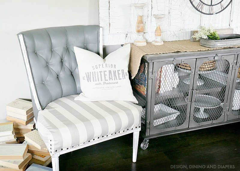 Farmhouse Style Chair Makeover