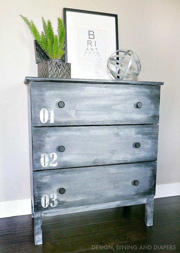 IKEA HACK - Painted Tarva Dresser
