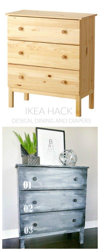 IKEA HACK - TARVERS DRESSER MAKEOVER