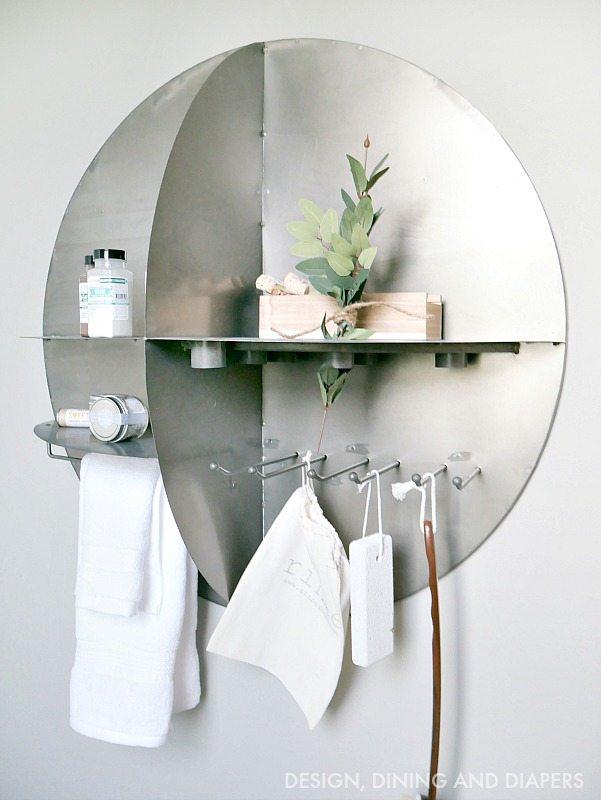 Metal Industrial Bathroom Station