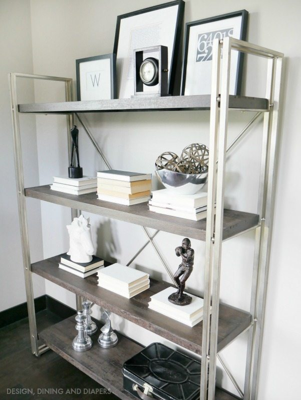 Rustic Office Shelving