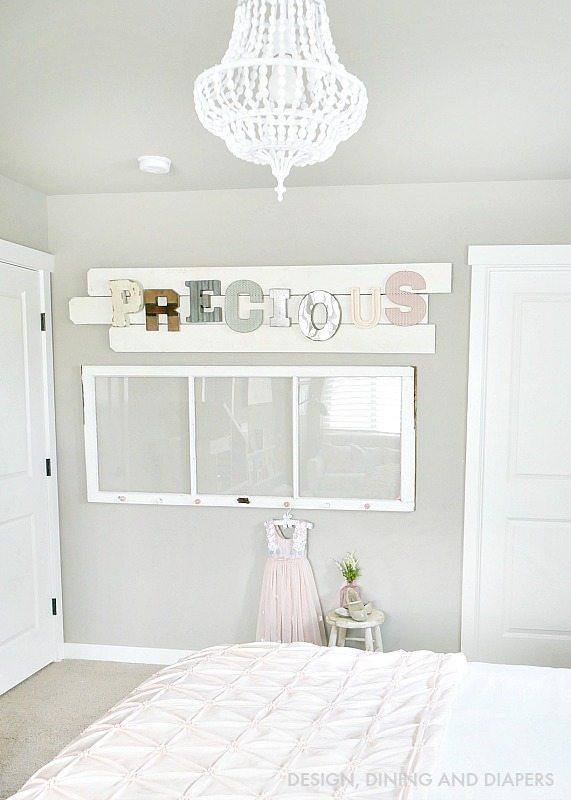 Vintage Inspired Little Girl's room