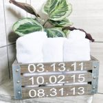 Mother's Day Gift Idea: Personalized Towel Crate
