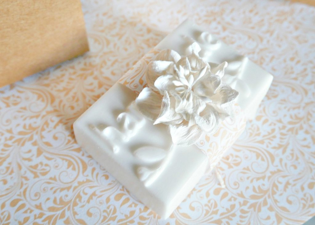 Gift idea homemade soap