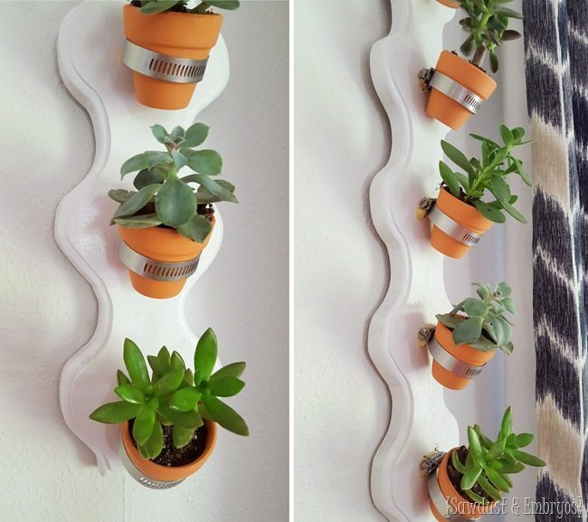 DIY-Vertical-Succulent-Planter...-so-simple-Sawdust-and-Embryos