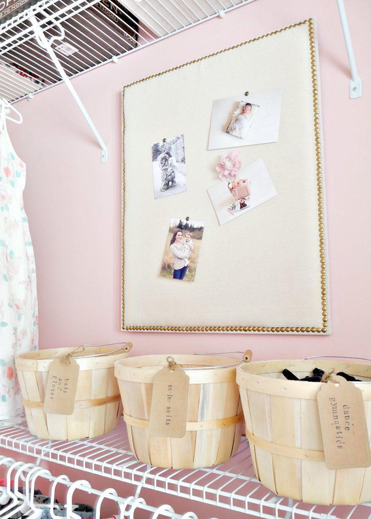 Little Girls Closet- Basket Organization