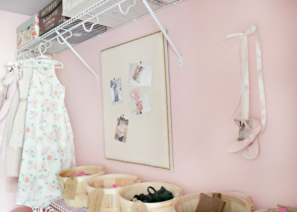 Little Girls Closet Makeover