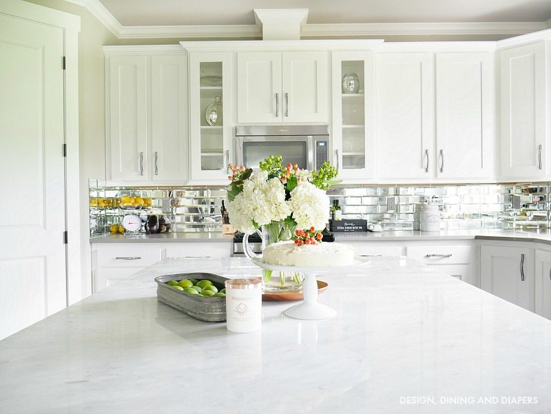 White Summer Kitchen