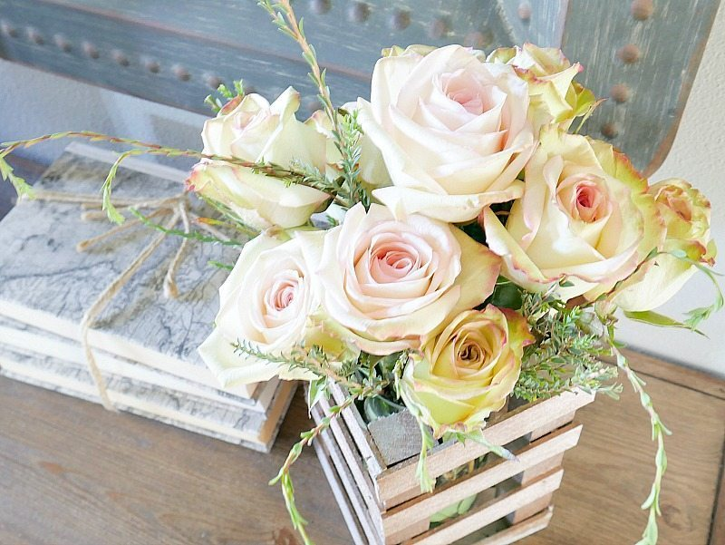 DIY Wood Floral Vase