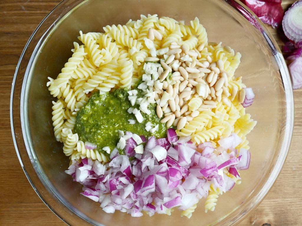 Pesto Pasta Salad - Bowl