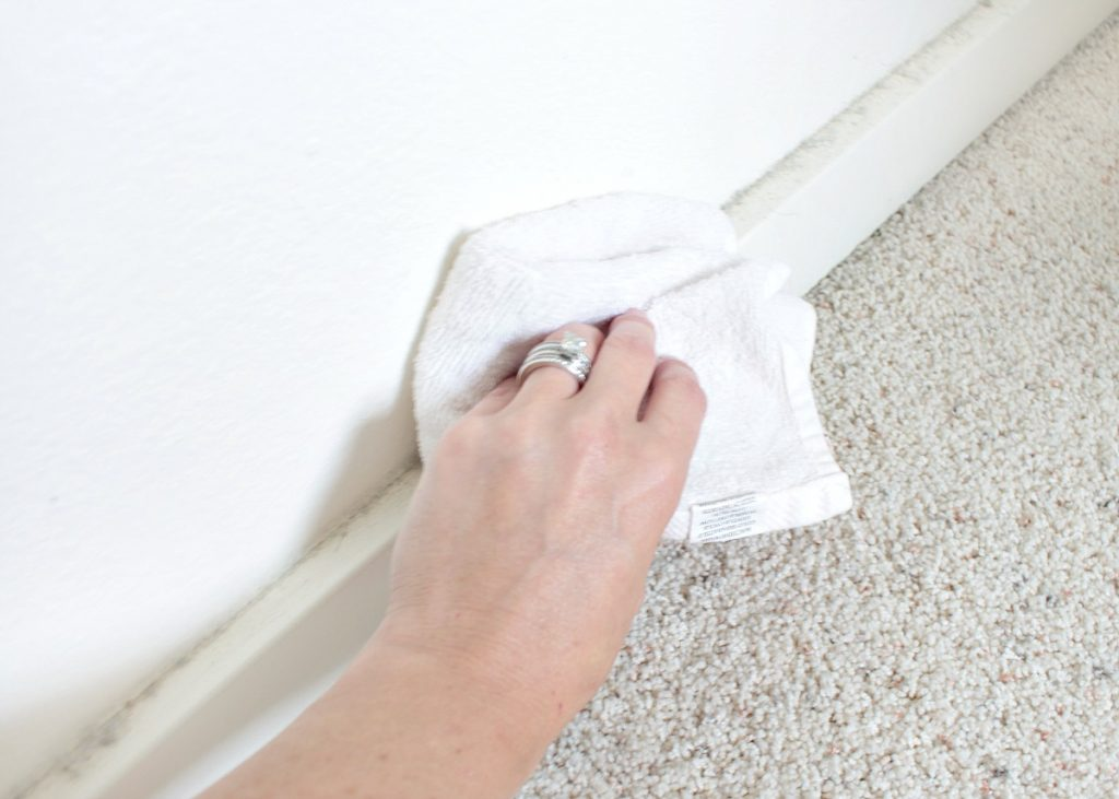 4 - Guest Room Makeover - Cleaning