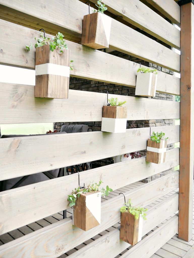 Hanging Wood Planters - Final 3